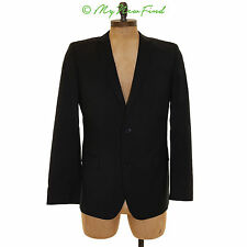 HUGO BOSS 'ASTRO/HILL' EXTRA TRIM FIT WOOL BLEND SUIT JACKET BLACK SIZE 44 B52