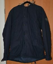 Ralph Lauren mens, navy blue,faux fur hooded,winter,warm coat/jacket,size L