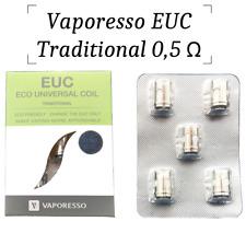 Vaporesso 0,5 Ohm Traditional EUC Coils | Veco Coil Estoc Coil Clapton Coil EUC