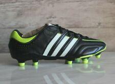 Adidas Adipure 11Pro TRX FG Black Leather Soccer Cleats RARE Size US-6.5