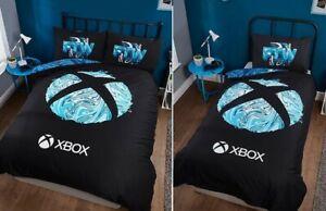 Microsoft XBOX Reversible Single / Double Bedding Set Gamer Duvet Cover Boy Gift