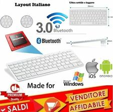 TASTIERA ULTRA SLIM WIRELESS BLUETOOTH COMPATIBILE MAC o WINDOWS