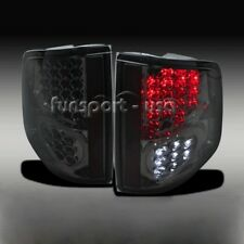 LED Tail Lights for 94-04 Chevy S10/GMC Sonoma Isuzu Black Smoke Brake Rear Lamp
