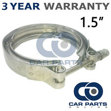 """V-BAND OUTER CLAMP STAINLESS STEEL EXHAUST TURBO HOSE RADIATOR 1.5"""" 38mm"""