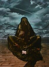 Jan Saudek Photo Kunstdruck Art Print 30x38cm Untitled 1973 Wrapped Woman Girl