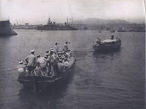 Schiff Militär WW1 Große Krieg Italien Italia? Vintage Analog
