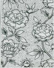 """Hero Arts CLINGS LARGE FLOWER Repositionable Rubber Stamps CG403 4.75"""" x 5.75"""""""