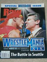 WWE MAGAZINE RAW MARCH 2003 WRESTLING WRESTLEMANIA XIX 19 SPECIAL WWF