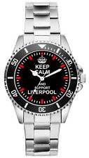 Keep Liverpool Geschenk Fan Artikel Zubehör Fanartikel Uhr 1710