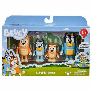 Bluey & Family 4 Figurine  pack  - Australian Post
