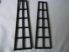 NEW 16 x 5 BLACK SHORT BOAT MAST RIGGING PART 6057