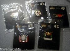 New HOG Harley Davidson Commemorative Pin Lot Veterans Valentines Memorial Labor