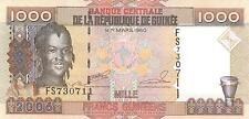 A SAISIR     BILLET  DE 1000 FRS    REP. DE GUINEE    NEUF   2006    !!!!   UNC