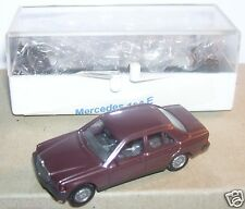 MICRO WIKING HO 1/86 1/87 MERCEDES BENZ 190 E FUSCHIA VIOLET IN BOX 2