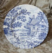 Old pottery. Hare & Hounds. Board- Collection- plate