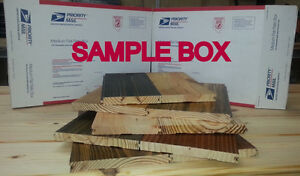 Wide plank samples, pine, wood flooring prefinished unfinished and distressed
