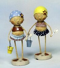 LORI MITCHELL Bathing Beauties~ Collectible Figurines ~ Set of 2 Beach Figures