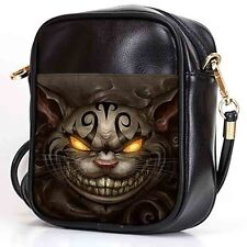 CHESHIRE CAT-3 Sling Bag Crossbody Women Shoulder Casual Bags Leather