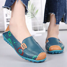 Women Genuine Leather Shoes Ladies Flats For Ballerina Flat Shoes Slip On Loafer