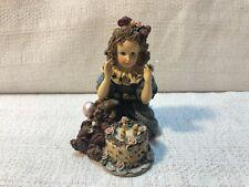 Boyds Bear Yesterdays Child Dollstone Rebecca Elliot Birthday Figurine 3509