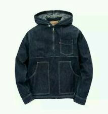 LEVI x OPENING CEREMONY POPOVER DENIM HOODIE JACKET L as worn by CHRIS BROWN lvc