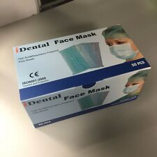 Ear Loop Procedure Medical Surgical Face Mask (White) (Case of 1000)