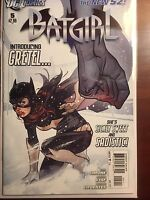 Batgirl issue #5 NM 1st Print Gail Simone DC New 52 Adam Hughes Cover