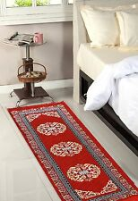 Designer Bed Side Runner - Red