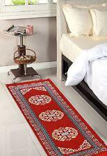 Designer Bed Side Runner - Red