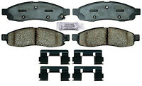 Disc Brake Pad Set-Ceramic Disc Brake Pad Front ACDelco Advantage 14D1015CH