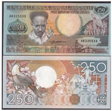 Surinam / Suriname P 134 250 gulden 1988 UNC