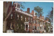 Vintage Postcard Nantucket Ma Massachusetts Starbuck Houses Three Bricks Mansion