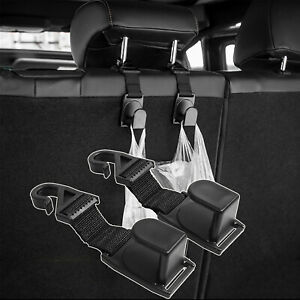 for Suzuki Jimny 2019 2020 Accessories Hooks Back Seat Headrest Hanger Holder x2