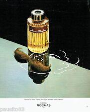 PUBLICITE ADVERTISING 116  1978  parfum homme Moustache par Rochas