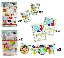 In The Night Garden 10pc Party Set Paper Cups, Loot Bag Party Banner & more