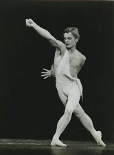 "PHOTO ORIGINALE : MIKHAIL BARYSHNIKOV ""APOLLON"" PARIS 1979-1980"
