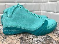 2016 Nike Air Jordan XX3 SAMPLE SOLEFLY SZ 16 Marlins Tropical Teal 887230-332