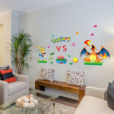 POKEMON 3D WALL STICKER DECAL KIDS MURAL ART DECOR STICKERS DECALS REMOVABLE