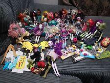 Large Monster High Doll Bundle joblot 28 Dolls Boys & accessories some Rare