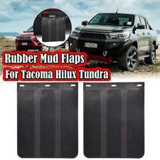 Rubber Mud Flaps Mudflap Mudguards Splash Guards 4X4 4WD For Toyota Tacoma Hilux