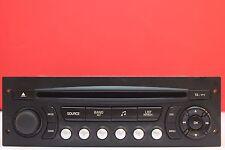 PEUGEOT 207 307 807 EXPERT CITROEN C2 C3 C4 BERLINGO CD RADIO PLAYER RD4