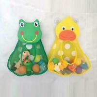 1*Baby Cartoon Bath Time Toy Storage Hanging Bag Mesh Bathroom DIY U8I8