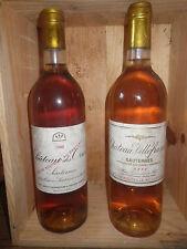 Sauternes chateau des ORMES 1988 et VILLEFRANCHE 1996, Grand vin de bordeaux