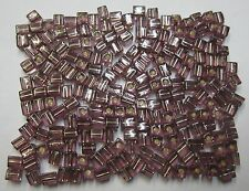 20g Miyuki Square Glass Beads 4mm Silver Lined Amethyst Bead #12 For Beading