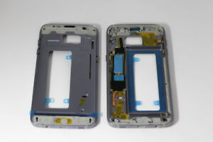 For Samsung Galaxy S7 Edge G935F  Middle Chassis Replacement Casing Blue
