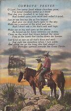 Cowboys' Prayer - Badger Clark's Poem  - 1945