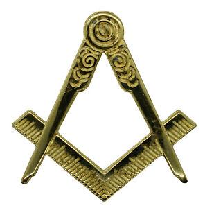 Masonic Square Compass Jewel