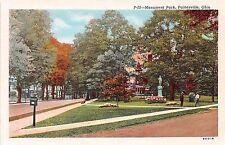 Ohio postcard Painesville, Monument Park