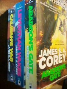 JAMES S.A. COREY - THE EXPANSE - 3 BOOKS - Science Fiction