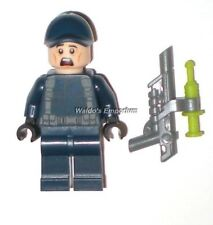 Lego Jurassic World Minifigure GUARD with Dart Gun, Ball Cap from set 10758, New